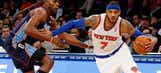 Carmelo goes off vs. Bobcats, scores 62 points