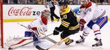 Bruins dominated by Canadiens
