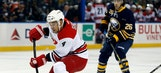 Hurricanes rally to take down Sabres