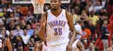Durant has another 30-point show in Thunder's win