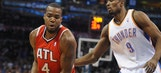 Hawks can't slow Durant