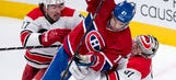 Hurricanes blanked by Canadiens