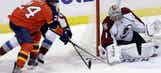 Panthers fall to Avalanche