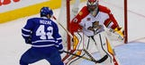 Panthers downed by Maple Leafs