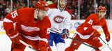 Red Wings rout Canadiens
