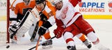 Red Wings shut out by Flyers
