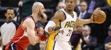 West helps Pacers trounce Wizards