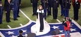 Renee Fleming sings National Anthem