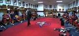 Panthers coach Peter Horachek's pregame speech