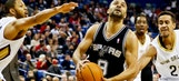 Parker, Spurs rally to beat Pelicans