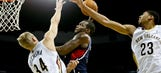 Hawks stumble against Pelicans