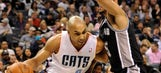 Bobcats outdone by Spurs