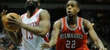 Bucks downed by Rockets