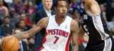Pistons win over Spurs with interim coach