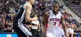 Green hurts hand in Spurs' loss to Pistons