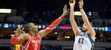 T-Wolves downed by Rockets