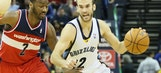 Grizzlies edge out Wizards