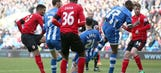 Campbell grabs equalizer for Cardiff City