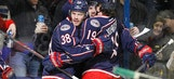 Blue Jackets pull away in 3rd to top Stars