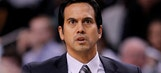 Spoelstra on LeBron sitting out in loss