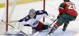 Wild edged out in shootout