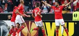 Garay gives Benfica 1-0 lead