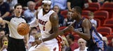 LeBron James scores career-high 61 in win over Bobcats
