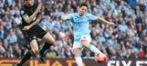 Nasri pulls one back against Wigan