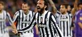Pirlo nets spectacular free kick
