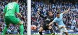 Perch goal stuns Manchester City