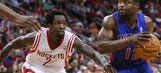 Pistons sluggish against Rockets