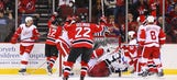 Devils down Red Wings late