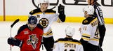 Bruins' use strong 3rd period to beat Panthers