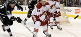 Kings fall to Coyotes