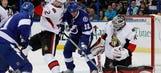 Lightning fall to Senators in shootout
