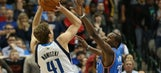 Thunder edged out by Mavs