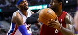 Pistons crumble to LeBron, Heat