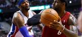 Pistons crumble to LeBron, Heat