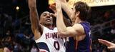 Hawks fall to Suns