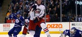Blue Jackets top Maple Leafs