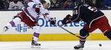 Blue Jackets downed by Rangers