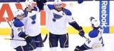Blues dump Maple Leafs 5-3