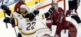 Bruins battle back, beat Coyotes
