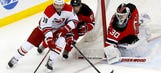 Hurricanes dropped by Devils