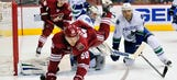 Smith, Coyotes shut out Canucks