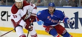 Coyotes dropped in OT by Rangers