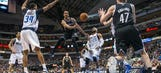 Dallas' defense falters in OT loss to Nets