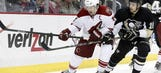 Coyotes fend off Penguins