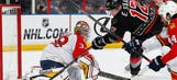 Khudobin, Hurricanes blank Panthers