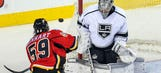 Kings scrape by surging Flames, win 3-2